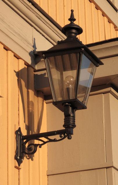 Fasadbelysning Solgård